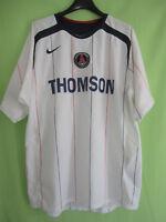 Maillot PSG Paris saint Germain Thomson Exterieur 2005 jersey Nike Vintage - M