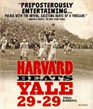 HARVARD BEATS YALE 29-29 NEW BLU-RAY
