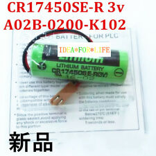 5PCS SANYO CR17450SE-R PLC Battery For GE FANUC A98L-0031-0012/A02B-0200-K102 YS