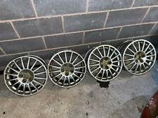 OZ R16 5X112 Racing Alloy wheels ET35 7.5J SET 4x