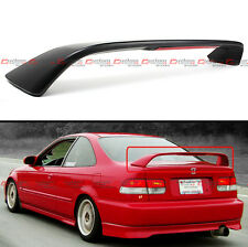 96-00 HONDA CIVIC 2DR COUPE EM EJ Si STYLE TRUNK SPOILER WING W/ LED BRAKE LIGHT
