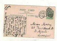 EDW.VII. 1905. HEREFORD  DUPLEX POSTMARK.PLEASE SEE PICTURE