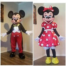 Mickey And Minie Mouse Costume Party Characters Costume
