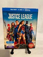 New listing Justice League (Blu-ray/Dvd, 2018, 2-Disc Set+digital Copy