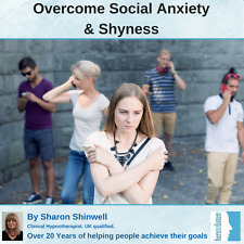 Overcome Social Anxiety Social Phobia and Shyness Self-Hypnosis CD. @ HALF PRICE