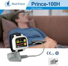 Indossabile Polso Ossimetro di Impulso USB Respirazione Paziente Monitor Apnea