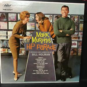 Mark Murphys Hip Parade CAPITOL High Fidelity 60'  Lp Vinyl Record Vocal Jazz