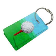 Golf Ball Suitcase Bag ID Luggage Tag Set