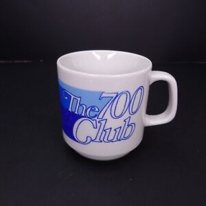 VTG The 700 Club Coffee Mug Tea Cup