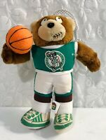 1991 Good Stuff Boston Celtics NBA Bear Plush With Basketball RARE Vintage Toy