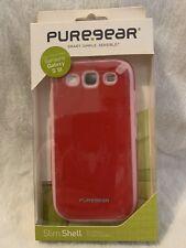 Samsung Galaxy S3 Puregear Slim Shell Flexible Silicone Passion Fruit