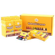 Jar Meló Washable Crayons Bulk Set - 12 COLOURS x 8 PACKS