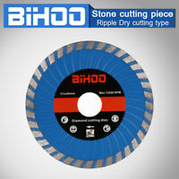 "4.5"" Turbo Diamond Cutting Disc Dry Saw Blade for Ceramic Stone Brick 4/5"" Bore"