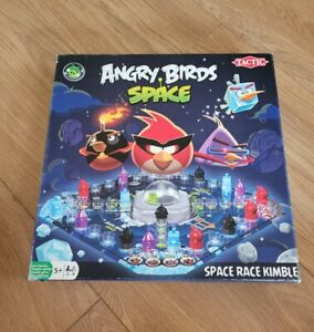 Angry Birds Space Race Fustration Board Game by Tactic