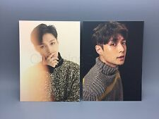 EXO LAY Official For Life Album Photo Postcard x2 NEW AUTHENTIC