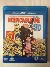 Despicable Me 3D Blu-Ray / 2 Disc Set - Brand New & Sealed