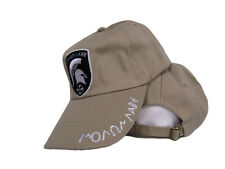 Khaki Molon Labe Come and Take it Greek Spartan 300 Ball Shadow Cap Hat