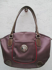 -AUTHENTIQUE sac à main neuf  TED LAPIDUS cuir et coton TBEG vintage bag