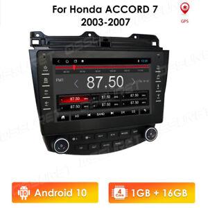 Autoradio Android 9.0 GPS Navi FM RCA DAB+BT Wifi USB Honda Accord 7 03-07