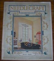 Needlecraft Magazine May 1925 The Amenities of Engagements/Embroidery/Cottage