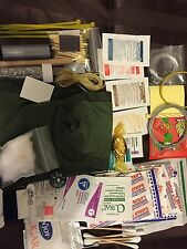 @@ 80+ ITEM MINI EMERGENCY SURVIVAL KIT COMPASS FIRST AID MILITARY POUCH LC-1