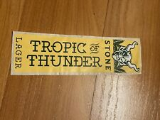 STONE BREWING Tropic Thunder Craft Beer STICKER