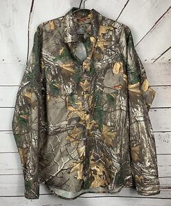 $79 Under Armour Men's Medium Chesapeake Camo Realtree Loose Shirt NWT HeatGear