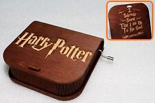 I Solemnly Swear Up To No - Harry Potter Music Box - Hand Crank Engraved Wooden