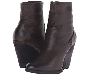 New in Box Womens Frye Cece Artisan Short Charcoal Boots SZ 7.5 & 9 MSRP $ 368