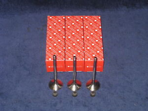 Auslassventil Satz Smart 0,6L 0,7L 450 & 452 + Dichtungen Ventilschaft