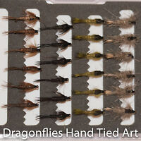 24 Hares Ear & Pheasant Tail Nymphs Trout Fly Fishing Flies  - by Dragonflies