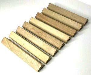 Scrabble Tile Racks Wooden Replacement Stand Letter Holder Set Vintage Set of 8