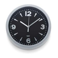 Kela 17162 Horloge murale Diamètre 20 cm coloris Noir 'berlin'