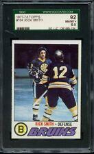 1977 TOPPS 104 RICK SMITH SGC NM/MT+ 92 / 8.5