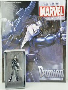 Marvel Comics Domino Classic Figurine Collection w/ Book No. 178 Eaglemoss NEW
