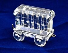 Swarovski Crystal Figurine - TRAIN CARRIAGE - Beautiful! - Price Reduced
