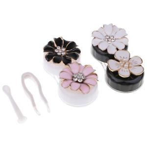 Portable Cute Contact Lens Cases Contact Lenses Boxes Lens Storage Case Set