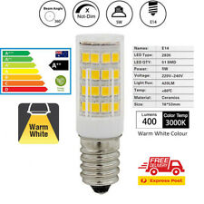 LED Light Bulbs E14 Screw Quality Globes Lamp Warm White A++ 5W Energy Savings