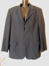 Giacca classica in blu scuro, tessuto 50% lana taglio regolare Mis.46