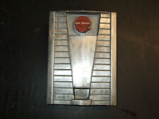 1953 AMI  JUKEBOX SERIES E METAL COIN RETURN COVERPLATE WITH PLASTIC EJECT KNOB