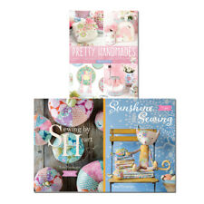 Tilda Sunshine Sewing, Pretty Handmades and Sewing By Heart 3 Books Set Pack NEW