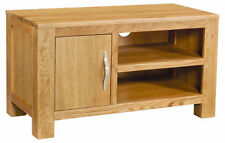 Winchester Solid Oak 1 Door TV Cabinet / TV Stand / Fully Assembled