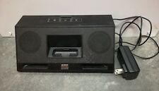 Altec Lansing IMT320 iPod iPhone Audio Dock Portable 30 Pin Aux Input Black