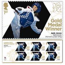 GB Olympic Gold Medal Jade Jones Taekwondo miniature sheet MNH 2012