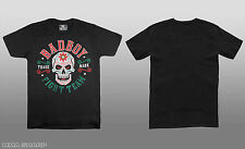 Bad Boy Men's Calavera Tee Shirt MMA Black Large