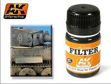 Ak Interactive AKI 071- Filter- Blue For Panzer Grey