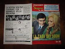 FOTOROMANZO I RACCONTI DI SOGNO ANNO 1972 N°80 CON C.GIORDANA V.VANNI