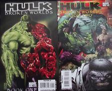HULK: BROKEN WORLDS 1,2...NM-...2009...Hulk Tales From 8 Worlds!...Bargain!