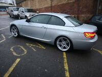 BMW 3 SERIES 320D 2012 M-SPORT PLUS EDITION CONVERTIBLE CABRIOLET 54K E93