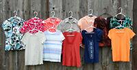 Lot of 12 Womens Shirts Tops Blouses size Small Apt.9 Dress Barn Banana Republic